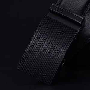 Automatic Buckle Premium Leather Belt - Icymen