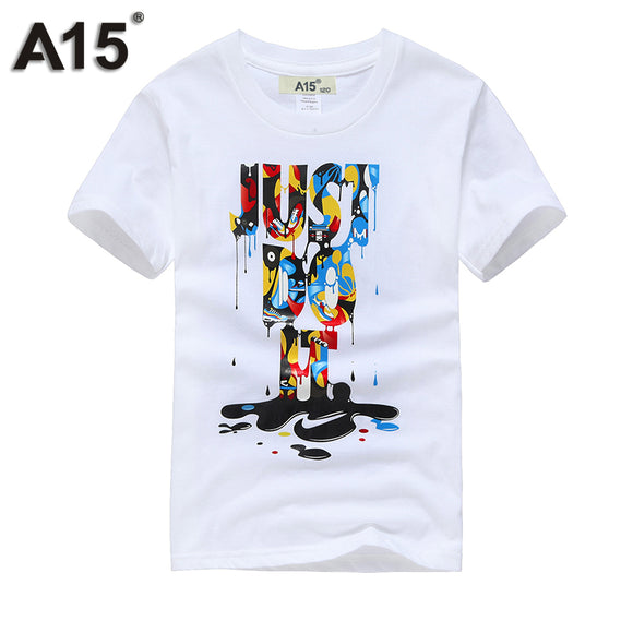 A15 Boy t Shirts for Children Cotton Summer 2017 3D Printed T-Shirts for Girl Kids Clothes Short Sleeve Tops Tees 6 8 11 12 Year - Icymen