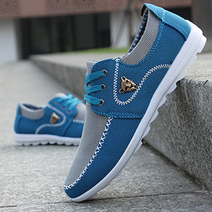 Drop Shipping Men Casual Shoes Big Size 39-46 Canvas Shoes for Men Driving Shoes Soft Comfortatble Man Footwear - Icymen