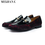 Handmade  leather Men Loafers,MeiJiaNa Brand 2016 Design Soft leather  Shoes Men - Icymen