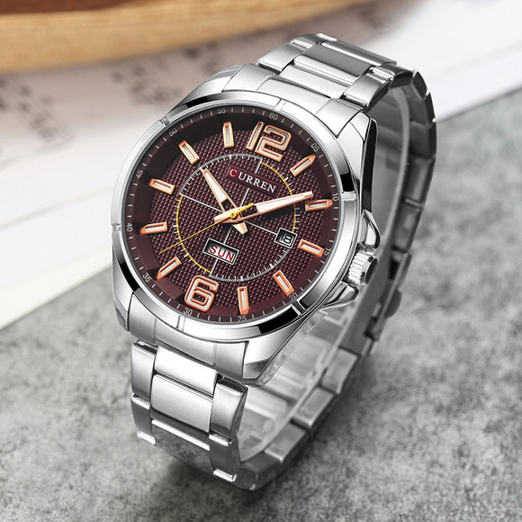 Luxury Dark Quartz wrist watch - Icymen