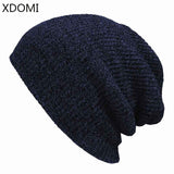 7 Colors!Winter Beanies Solid Color Hat Unisex Plain Warm Soft Beanie Skull Knit Cap Hats Knitted Touca Gorro Caps For Men Women - Icymen