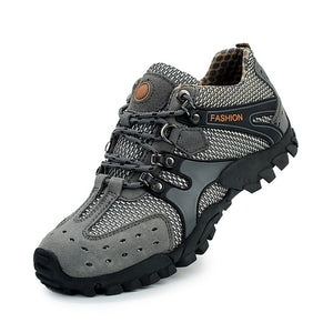 Breathable Casual Shoes Men Lightweight Walking Climbing Shoes Anti-skid Men Aqua Water Trekking Shoes Men - Icymen