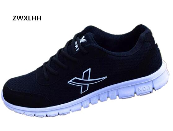 ZWXLHH new men's casual shoes in the autumn of 2017, comfortable breathable mesh shoes SIZE 36-46