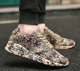 Camouflage Unisex Shoes Slipony men Shoes Height Increase male Comfort Footwear plus size 35-46 - Icymen