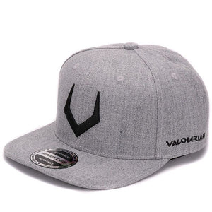 High quality grey wool snapback  3D pierced embroidery hip hop cap flat bill baseball cap for men and women - Icymen