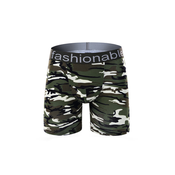 Fashion Mens Brief Cotton Camouflage Underwear Shorts Boxers Underpants - Icymen