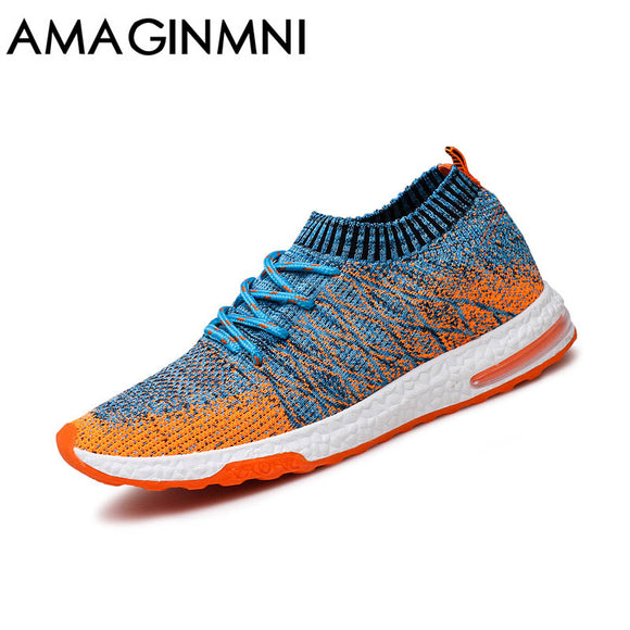 2017 New Breathable Mesh Summer Men Casual Shoes Slip On Male Fashion Footwear Slipon Walking Unisex Couples Shoes Mens Colorful - Icymen