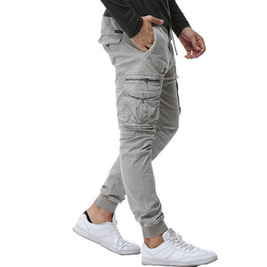 2017 Mens Camouflage Tactical Cargo Pants Men Joggers Boost Military Casual Cotton Pants Hip Hop Ribbon Male army Trousers 38 - Icymen