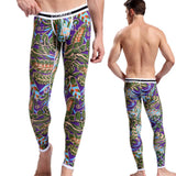 2017 New arrival sexy yoga pants men high quality soft sport leggings comfortable breathable yoga pants men fitness gym yoga - Icymen