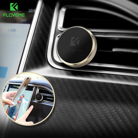 FLOVEME Universal Car Phone Holder Magnetic Air Vent Mount Magnet Smartphone Dock Mobile Phone Holder For iPhone Samsung Xiaomi - Icymen