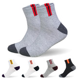 HSS New Brand Basic Cotton Men Socks EU39-45(US7-11) Hollow Breathable Winter Socks High Quality sock for men Calcetines Hombre - Icymen