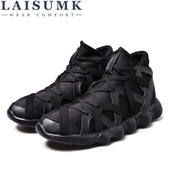 2017 LAISUMK Lover Out Door Mens Lovers High Quality Stitching Shoes Style Shoes Males Wholesale - Icymen