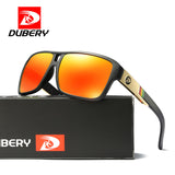 DUBERY 2017 Brand Luxury UV400 Polarized Sunglasses Men Beach Sport Glasses Polaroid Squared Sunglass Wholesale Polarized Aviat - Icymen