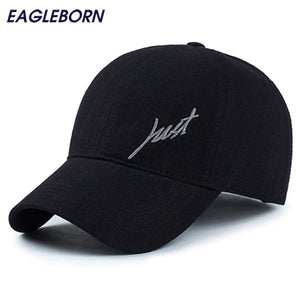 2018 100% cotton men's Baseball Caps Just logo unisex baseball cap for men women casual outdoor snapback hats breathable Washed - Icymen