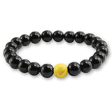 Black and White Natural Stone Reiki Buddha Prayer Beads Bracelets For Women Men Jewelry Distance Chakra Bracelet Pulseras mujer - Icymen