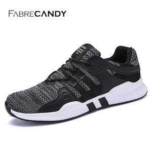 FABRECANDY 2018 New Arrival Fashion Mesh Breathable Comfortable  Spring Summer Casual Shoes Men shoes sneakers Plus Size 39-47 - Icymen