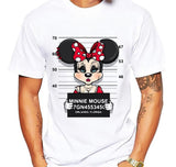 anime Donald t-shirt MEN TOPS short sleeve casual funny dog mouse cartoon tshirt homme comfort plus size t shirt - Icymen