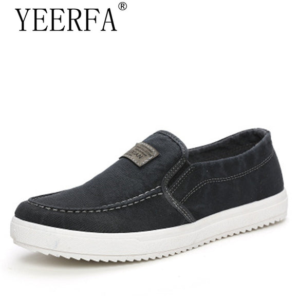 2018 Men Shoes Men Casual Shoes Spring Summer Canvas Casual Shoes Slip on Fashion Men Loafers Zapatillas Hombre Casual Zapatos - Icymen