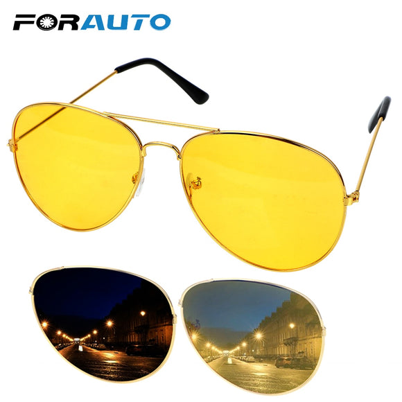732d9ba5f71c FORAUTO Anti-glare Polarizer Car Drivers Night Vision Goggles Polarized  Driving Glasses Copper Alloy Sunglasses