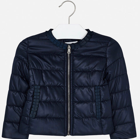 Mayoral padded navy jacket 3472