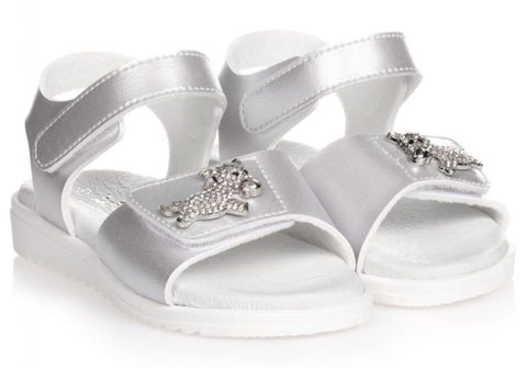 Lelli kelly unicorn silver sandals lk1505
