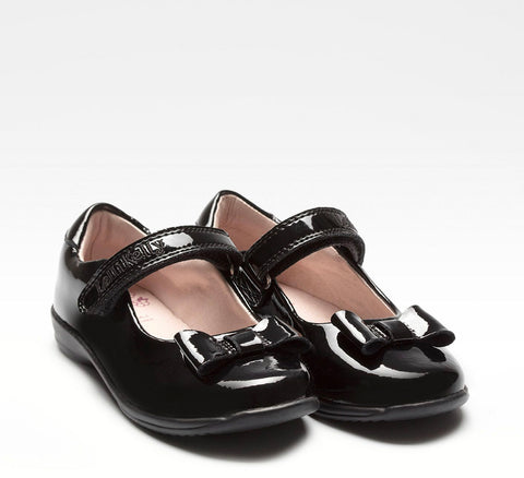 lelli kelly black patent school shoes
