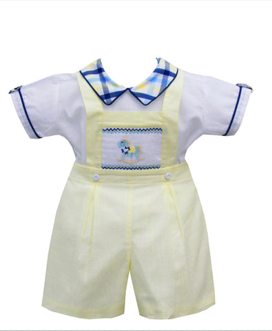 Pretty originals boys smocked set dl61946