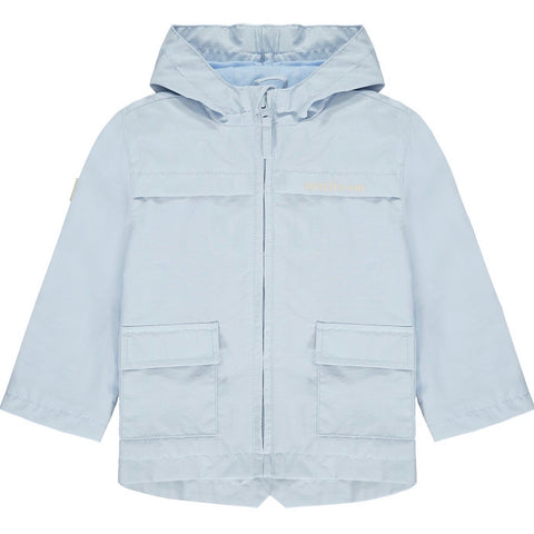 MItch and son beach days Bain pale blue jacket ms21100