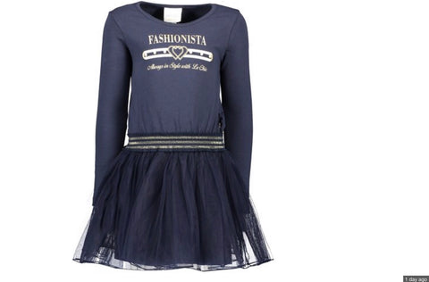 Le chic navy fashionista dress c9085822