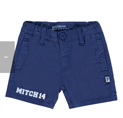 Mitch and son Shearer navy shorts ms1125