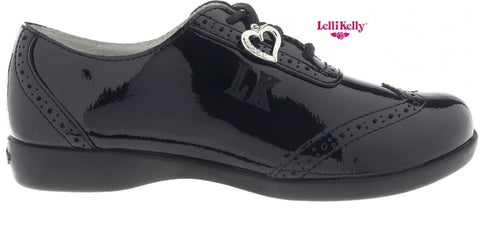 Lelli Kelly Kimberley black patent shoe