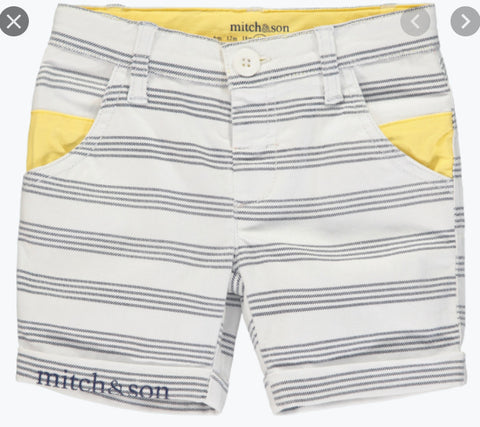 Mitch and son Gabriel stripped shorts ms1330
