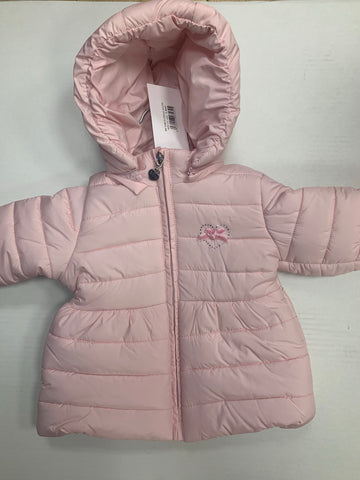 Emc padded pink coat 1133