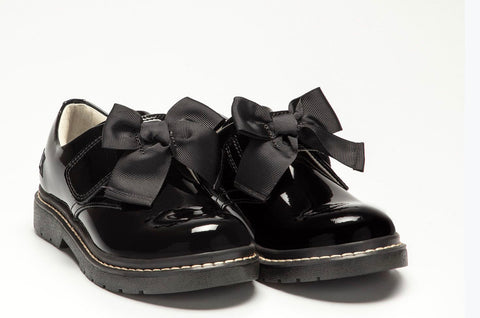 Lelli kelly Irene black patent shoe
