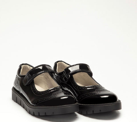Lelli kelly Nicole black patent shoe