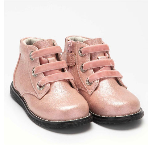 Lelli Kelly Sarah Boots Pink Pearlized boots