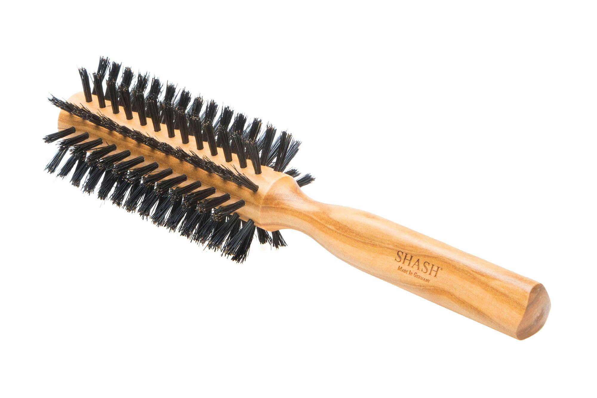 BOAR BRISTLE ROUND HAIR BRUSH