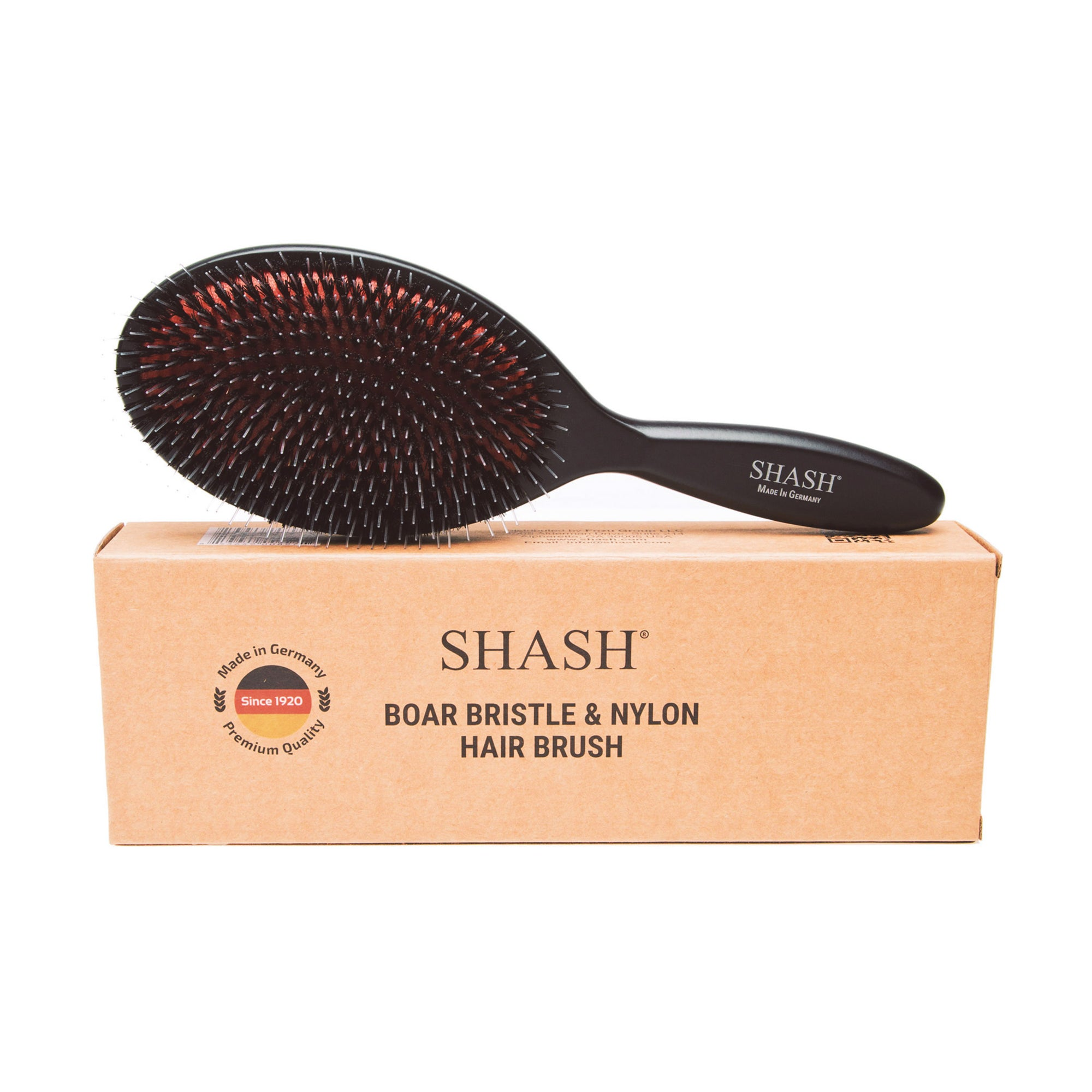 BOAR AND NYLON BRISTLE HAIR BRUSH - LARGE