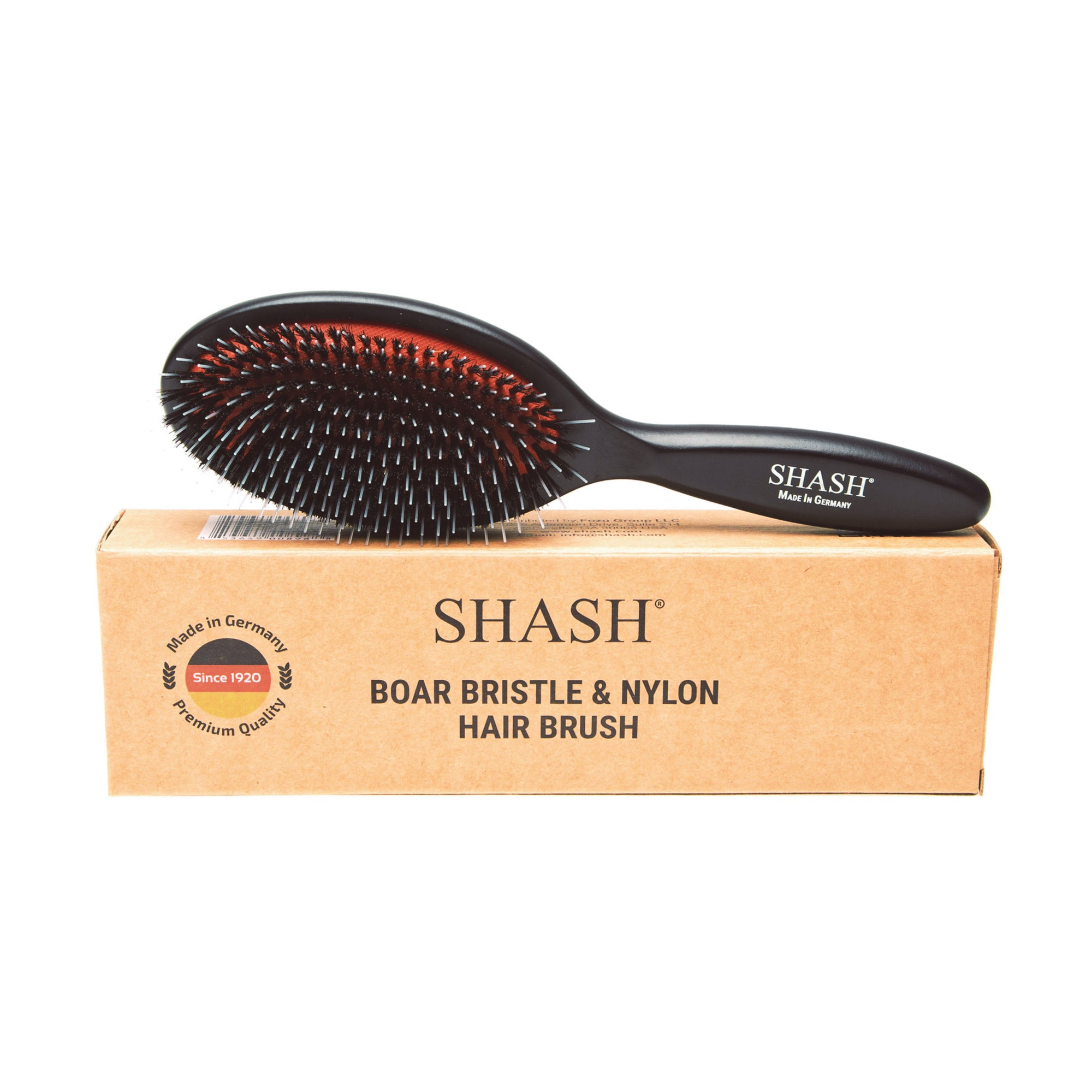 BOAR AND NYLON BRISTLE HAIR BRUSH - MEDIUM