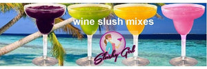 frozen wine slush mixes