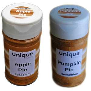 apple pie and pumpkin pie spice set by Unique Flavors