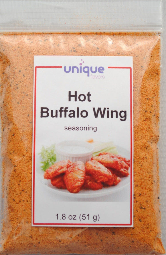 Poultry seasoning hot buffalo wing seasoning