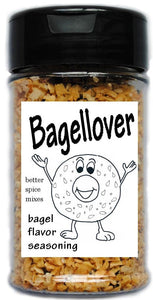 Bagellover everything bagel seasoning blend 1.5 oz shaker by Unique Flavors