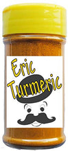 Turmeric ground, curcumin, Eric Turmeric 1.7 oz easy shaker by Unique Flavors