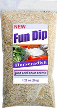 Dipping seasoning Fun Dip Horseradish flavor by Unique Flavors