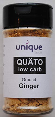Keto spices QUÄTO low carb ground Ginger 2 oz