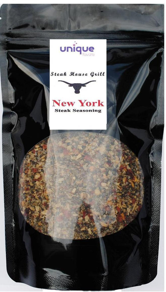 bbq steak seasoning new york by unique flavors