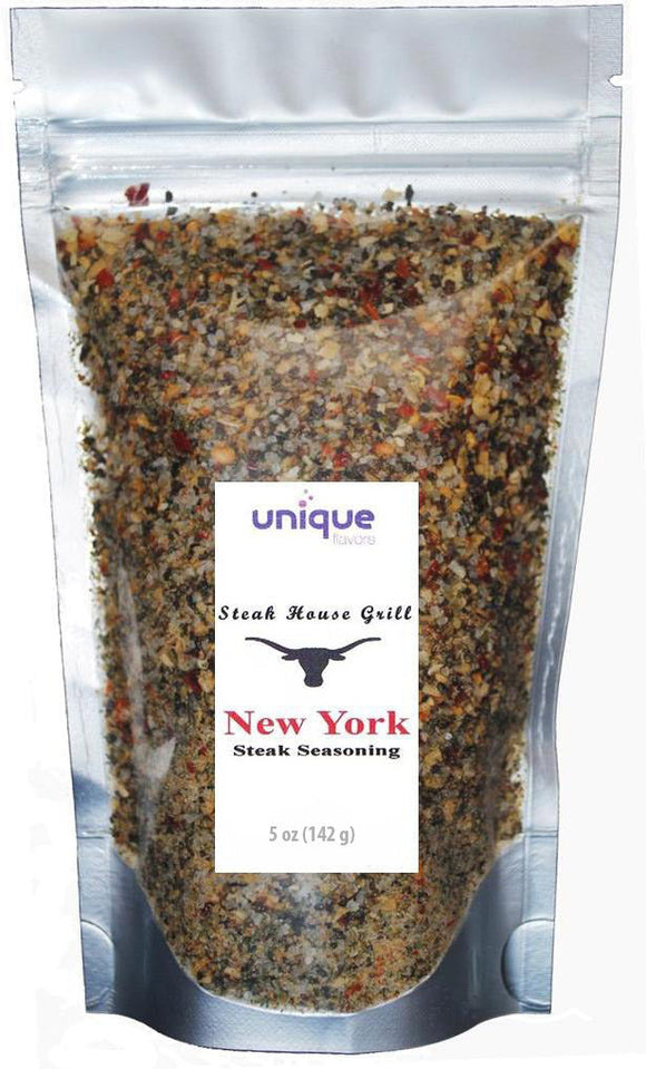 New York Steak House Seasoning 4 oz bag