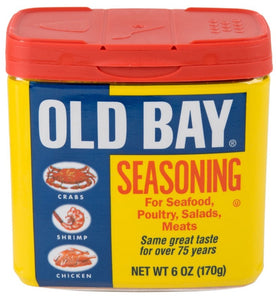 Old Bay seafood seasoning by McCormick spices